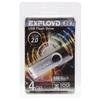 EXPLOYD 530 4GB (черный) - USB Flash driveUSB Flash drive<br>Флэш-накопитель 4 Гб, интерфейс USB 2.0.<br>