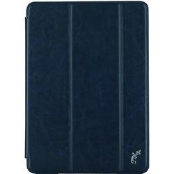 Чехол книжка для Apple iPad (2017) (G-Case Slim Premium GG-800) (синий)