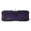 QUMO Dragon War FALLEN Black USB - Мыши и КлавиатурыМыши и Клавиатуры<br>Игровая проводная клавиатура, USB 2.0, количество клавиш: 104+10 мультимедитийных, подсветка клавиш.<br>
