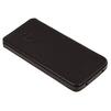 Чехол флип для Apple iPhone 5, 5s, SE (Heddy Ultraslim Hard HD-S-A-5SE-11-01) (черный) - Чехол для телефонаЧехлы для мобильных телефонов<br>Обеспечит надежную защиту Вашего устройства от царапин, сколов и потертостей.<br>