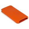 Чехол флип для Apple iPhone 6, 6s (Heddy Ultraslim) (оранжевый) - Чехол для телефонаЧехлы для мобильных телефонов<br>Обеспечит надежную защиту Вашего устройства от царапин, сколов и потертостей.<br>