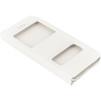 Чехол книжка для Apple iPhone 6, 6s (Heddy Aperture Cover) (белый) - Чехол для телефонаЧехлы для мобильных телефонов<br>Обеспечит надежную защиту Вашего устройства от царапин, сколов и потертостей.<br>