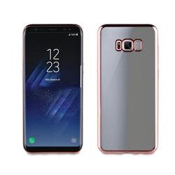 Чехол-накладка для Samsung Galaxy S8 (Muvit Bling Case MLBKC0162) (розовый)