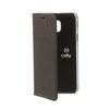 Чехол-книжка для Samsung Galaxy J5 2017 (Celly Air Case AIR665BKCP) (черный) - Чехол для телефонаЧехлы для мобильных телефонов<br>Чехол плотно облегает корпус и гарантирует надежную защиту от царапин и потертостей.<br>