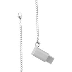 Переходник microUSB - USB-C (COTEetCI M31 CS2145-TS) (серебристый)