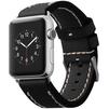 Ремешок для Apple Watch 42 мм (Cozistyle Leather Band CLB010) (черный) - Ремешок для умных часовРемешки для умных часов<br>Это стильный ремешок для смарт-часов Apple Watch 42mm. Ремешок изготовлен из натуральной тисненой кожи.<br>