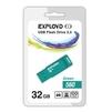 Exployd 560 32GB (зеленый) - USB Flash driveUSB Flash drive<br>Exployd 560 32GB - флеш-накопитель, объем 32Гб, USB 2.0, 15Мб/с.<br>