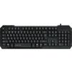 Qumo Hit K08 (черный) - Мыши и КлавиатурыМыши и Клавиатуры<br>Qumo Hit K08 - компьютерная клавиатура, проводная, USB, 104 клавиши, цифровой блок, классическая, длина кабеля 1.2 м.<br>