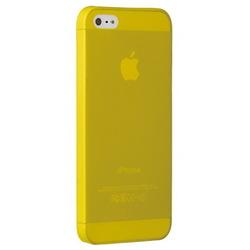 Чехол накладка для Apple iPhone 5, 5S, SE (Ozaki OC533YL) (желтый)