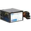 Navan APFC-450W (OEM) (черный) - Блок питанияБлоки питания<br>Блок питания в элегантном черном корпусе из высококачественной оцинкованной стали с оригинальной цельнолистовой вентиляционной решеткой, ультра тихий вентилятор 120 мм синего цвета, APFC, SCP, OVP,UVP, TC, DUAL EMI, OEM.<br>