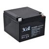 3Cott 12V26Ah OEM - Батарея для ибпБатареи для ИБП<br>Поддержание работоспособности, напряжение 12 В, емкость 26Ач, клеммы типа M4.<br>