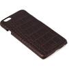 Чехол накладка для Apple iPhone 6, 6S (Heddy Alcantara Cover Heddy-CovAl-crbrwn) (коричневый) - Чехол для телефонаЧехлы для мобильных телефонов<br>Чехол накладка плотно облегает корпус телефона и гарантирует его надежную защиту от царапин и потертостей.<br>