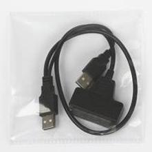 Кабель-конвертер SATA-USB 3.0 с питанием (Smartbuy SB-Cable-SUSB3) (черный)
