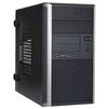 IN WIN EMR035 450W Black/silver USB 3.0 - КорпусКорпуса<br>Компьютерный корпус Mini-Tower, блок питания 450 Вт (RB-S450HQ70), для плат форм-фактора mATX, разъемы спереди: 2хUSB 3.0, наушники, микрофон, материал: сталь.<br>