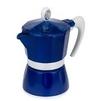 GAT Bella (3 чашки) (синий) - Кофеварка, кофемашинаКофеварки и кофемашины<br>Кофеварка, гейзерная, емкость резервуара для воды - на 3 чашки, объем - 150 мл, материал корпуса - алюминий.<br>