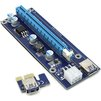 Райзер PCI-Ex1 (M)-PCI-Ex16 (F) (Espada EPCIekit) - КонтроллерКонтроллеры<br>Разъемы PCI-Ex1 (M)-PCI-Ex16 (F), кабель USB 3.0, переходник с SATA на 6-pin.<br>