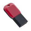 Perfeo M02 16Gb (черно-красный) - USB Flash driveUSB Flash drive<br>Объем 16Гб, интерфейс USB 2.0, материал: пластик.<br>