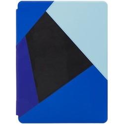 Чехол книжка для Apple iPad Pro 12.9 (Kajsa Patchwork Collection 578016) (синий)