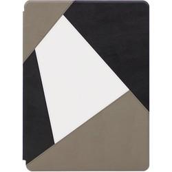 Чехол книжка для Apple iPad Pro 12.9 (Kajsa Patchwork Collection 578019) (серый)