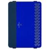 Чехол книжка для Apple iPad Pro 9.7 (Kajsa Reflective Collection 6-rf9-mia-bu) (синий) - Чехол для планшетаЧехлы для планшетов<br>Чехол плотно облегает корпус планшета и гарантирует его надежную защиту от царапин и потертостей.<br>