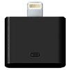 Адаптер 30 pin - Lightning для Apple iPhone 5, 5C, 5S, SE, 6, 6 plus, 6S, 6S Plus, 7, 7 Plus, iPad 4, Air, Air 2, Pro 9.7, Pro 12.9, PRO, mini 1, mini 2, mini 3, mini 4 (Henca LA30AB) (черный) - Usb, hdmi кабель, переходникUSB-, HDMI-кабели, переходники<br>Адаптер, позволяющий соединить последние модели гаджетов Apple, оборудованных разъемом Lightning с аксессуарами и устройствами, оснащенными старым 30-пиновым разъемом типа папа.<br>