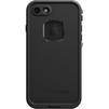 Чехол бампер для Apple iPhone 7 (LifeProof Fre Case 77-53981) (черный) - Чехол для телефонаЧехлы для мобильных телефонов<br>Чехол плотно облегает корпус телефона и гарантирует его надежную защиту от царапин и потертостей.<br>