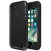 Чехол накладка для Apple iPhone 7 (LifeProof Nuud 884578) (черный) - Чехол для телефонаЧехлы для мобильных телефонов<br>Чехол плотно облегает корпус телефона и гарантирует его надежную защиту от царапин и потертостей.<br>