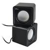 Ritmix SP-2020 (черный) - Колонка для телефона и планшетаПортативная акустика<br>Ritmix SP-2020 - колонки, USB 2.0, 5 Вт (2 х 2.5), 4.5 см, 90-20000 Гц. Материал корпуса: ABS-пластик, регулятор громкости.<br>