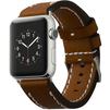 Ремешок для Apple Watch 42 мм (Cozistyle Leather Band CLB012) (коричневый) - Ремешок для умных часовРемешки для умных часов<br>Ремешок надежно крепится на металлическом замке и не даст часам соскользнуть с запястья. Часы легко устанавливаются в ремешок без каких-либо трудностей.<br>