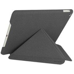 Чехол книжка для Apple iPad Air (Cygnett Paradox Texture Case CY1325CIPTE) (серый)