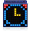 Divoom TimeBox (синий) - Колонка для телефона и планшетаПортативная акустика<br>Портативная акустика, беспроводная, Bluetooth 4.0, функция часов, функция будильника, дисплей - мозаичный, 121 ячейка, RGB.<br>