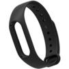 Ремешок для Хiaomi Mi Band 2 (800918) (черный)  - Ремешок для умных часовРемешки для умных часов<br>Выполнен из качественного силикона. Его длина регулируется при помощи застежки стандартного типа из нержавеющей стали.<br>