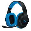Logitech G233 Prodigy Gaming Headset (981-000703) - Компьютерная гарнитураКомпьютерные гарнитуры<br>Logitech G233 - гарнитура, игровая, 20-20000 Гц, 107 дБ, 32 Ом, микрофон: 100-10000 Гц, кардиоидный (однонаправленный), длина кабеля для ПК 2м, для мобильного телефона 1.5м.<br>