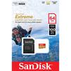 Sandisk Extreme microSDXC Class 10 UHS-I A1 64GB + SD адаптер (SDSQXAF-064G-GN6AA) - Карты памятиКарты памяти<br>Карта памяти microSDXC, Class 10, UHS-I A1, объем 64 Гб, скорость чтения до 100 Мб/с, в комплекте адаптер на SD.<br>