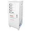 Ресанта ACH-9000/3-ЭМ - Стабилизатор напряженияСтабилизаторы напряжения<br>Трехфазный электромеханический стабилизатор напряжения, мощность 9000 Вт, входное напряжение 140-260 В, выходное напряжение 216-224 В, скорость стабилизации 10 В/с, точность стабилизации 2%, напольное размещение.<br>