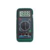 Мультиметр цифровой Mastech MY64 - Вспомогательное оборудованиеВспомогательное оборудование<br>Количество измерений в секунду: 2-3, постоянное напряжение: U = 0.1 мВ - 1000 В, переменное напряжение U~1 мВ - 700 В.<br>