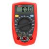 Мультиметр цифровой UNI-T UT33B - Вспомогательное оборудованиеВспомогательное оборудование<br>Тестирование батарей, тестирование диодов, квадратный волновой выход (только для UT 33D), удержание показаний (Data Hold).<br>