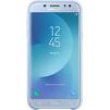Чехол-накладка для Samsung Galaxy J5 2017 (Dual Layer Cover EF-PJ530CLEGRU) (голубой) - Чехол для телефонаЧехлы для мобильных телефонов<br>Чехол плотно облегает корпус и гарантирует надежную защиту от царапин и потертостей.<br>