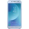 Чехол-накладка для Samsung Galaxy J7 2017 (Dual Layer Cover EF-PJ730CLEGRU) (голубой) - Чехол для телефонаЧехлы для мобильных телефонов<br>Чехол плотно облегает корпус и гарантирует надежную защиту от царапин и потертостей.<br>