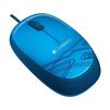 Logitech M105 Blue USB - Мыши и КлавиатурыМыши и Клавиатуры<br>Проводная мышь, интерфейс USB, 2 кнопки (+ колесо прокрутки), 1000dpi.<br>