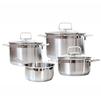 Набор посуды из 4 предметов (Swiss Diamond SD PS SET L4) - Кастрюля, ковшКастрюли и ковши<br>Набор посуды из 4 предметов (3 кастрюли и ковш) - кастрюля с крышкой - 16 см 1.5 л, кастрюля с крышкой - 20 см 3 л, кастрюля с крышкой - 24 см 6.1 л, ковш - 16 см 1.5 л. Материал - нержавеющая сталь, материал крышки - стекло.<br>
