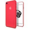 Чехол-накладка для Apple iPhone 7 (Spigen Air Skin 042CS21722) (красный) - Чехол для телефонаЧехлы для мобильных телефонов<br>Защитит смартфон от грязи, пыли, брызг и других внешних воздействий.<br>