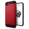 Чехол-накладка для Apple iPhone 7 (Spigen Slim Armor CS 042CS21725) (красный) - Чехол для телефонаЧехлы для мобильных телефонов<br>Удобный и компактный чехол, обеспечит защиту от негативных внешних воздействий.<br>