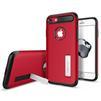 Чехол-накладка для Apple iPhone 7 (Spigen Slim Armor 042CS21519) (красный) - Чехол для телефонаЧехлы для мобильных телефонов<br>Защитит смартфон от грязи, пыли, брызг и других внешних воздействий.<br>