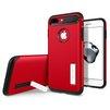 Чехол-накладка для Apple iPhone 7 Plus (Spigen Slim Armor 043CS21521) (красный) - Чехол для телефонаЧехлы для мобильных телефонов<br>Удобный и компактный чехол, обеспечит защиту от негативных внешних воздействий.<br>