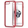 Чехол-накладка для Apple iPhone 7 Plus (Spigen Ultra Hybrid 2 043CS21729) (красный) - Чехол для телефонаЧехлы для мобильных телефонов<br>Обеспечит защиту телефона от царапин, потертостей и других нежелательных внешних воздействий.<br>