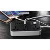 Сетевой удлинитель 6 розеток 2м (LDNIO SC3604) (черный) - Сетевой фильтрСетевые фильтры<br>Сетевой удлинитель, 2 м, 6 розеток, заземляющий контакт, защита от короткого замыкания, защита от перегрузки, защита от перенапряжения, пожаробезопасный корпус, USB-порт - 6.<br>