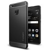 Чехол-накладка для Huawei P9 lite (Spigen Rugged Armor L05CS20299) (черный) - Чехол для телефонаЧехлы для мобильных телефонов<br>Чехол-накладка защитит смартфон от грязи, пыли, брызг и других внешних воздействий.<br>