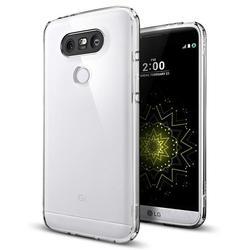 Чехол-накладка для LG G5 (Spigen Ultra Hybrid A18CS20129) (кристально-прозрачный)