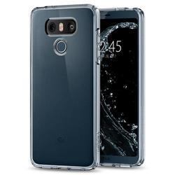 Чехол-накладка для LG G6 (Spigen Ultra Hybrid A21CS21233) (кристально-прозрачный)